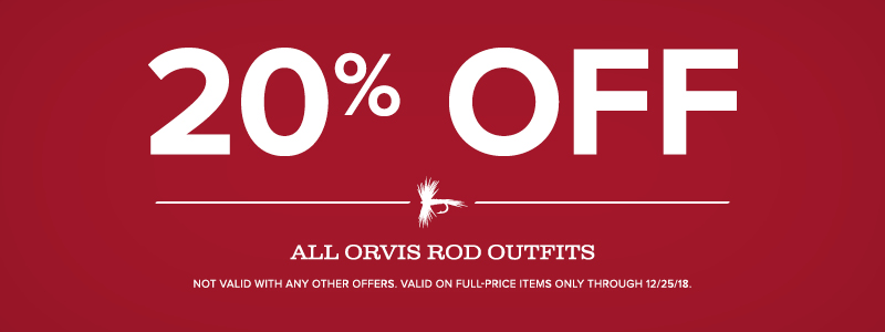 ORVIS OUTFITS 20% OFF