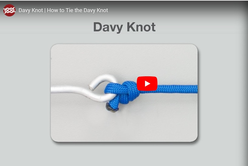 Dally's How To: The Davy Knot